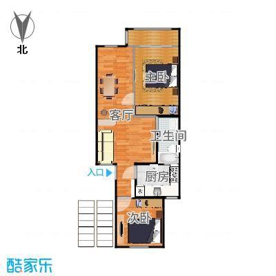 三楼房型方案