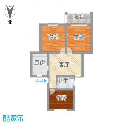 小三室一厅超高得房率