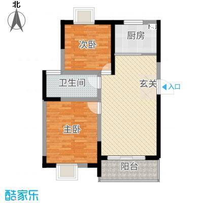 左岸王府二期3、5#楼C户型