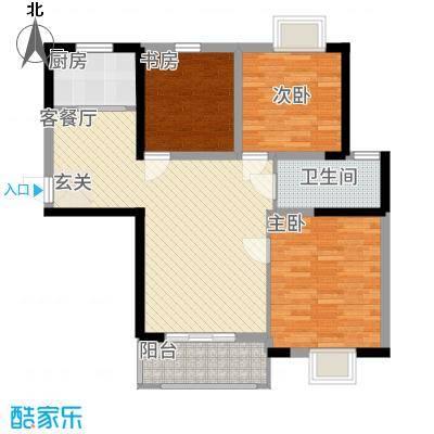 左岸王府二期3、5#楼A户型