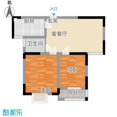 左岸王府二期3、5#楼B户型