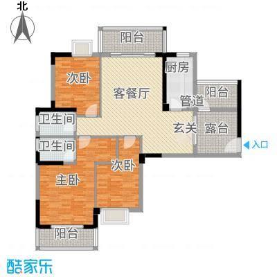 水岸・新城4#楼C户型