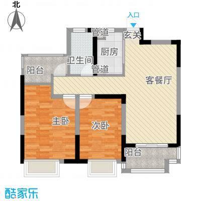 金马中央公馆B2户型