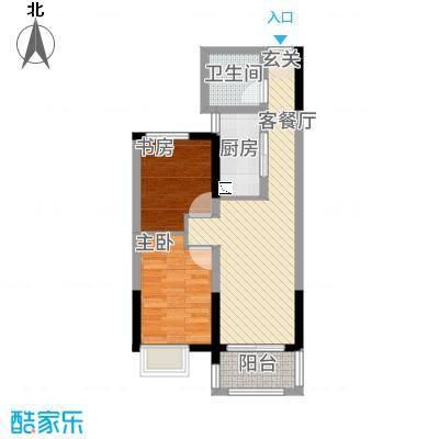 华仪香榭华庭12.20㎡户型3室2厅2卫1厨