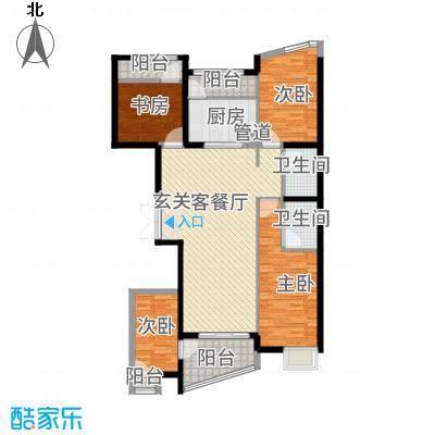 盈馨佳苑34157.20㎡G3户型4室2厅2卫1厨