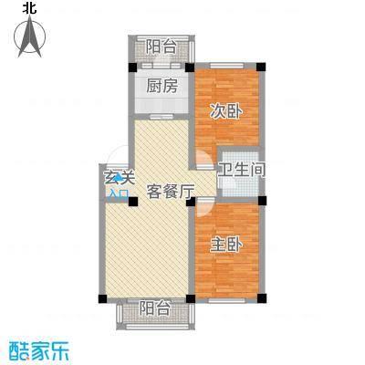 华城新视界7.00㎡户型