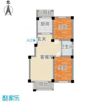 华城新视界11.00㎡户型