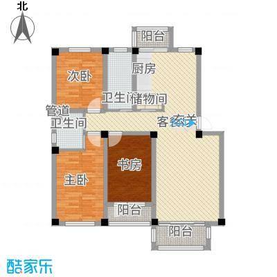 华城新视界13.00㎡户型