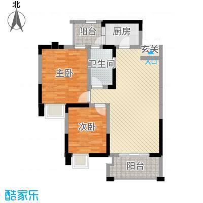 庐山星座1484.32㎡1-4户型2室2厅1卫1厨
