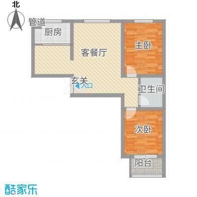 锦江华庭3.46㎡1#楼户型