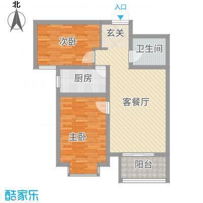 锦江华庭8.10㎡1#楼户型