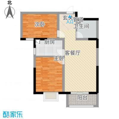 京润现代城5.00㎡B1户型