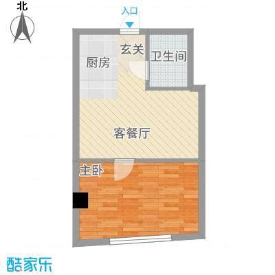 丹江国际51.75㎡4户型
