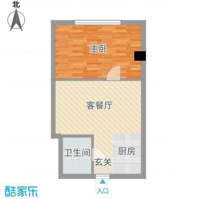 丹江国际53.54㎡5户型