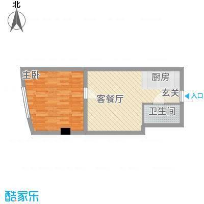 丹江国际56.46㎡6户型