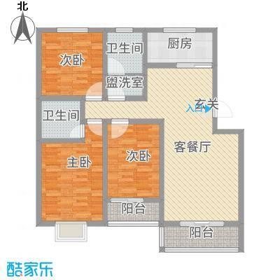 运河鑫城e户型