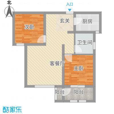 枫桦豪景8.61㎡复件户型