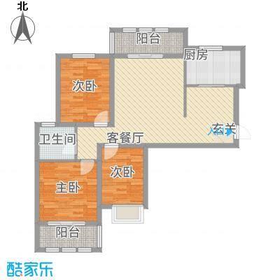 枫桦豪景115.42㎡复件户型