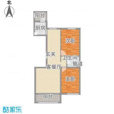 万豪・国际花园12.50㎡户型