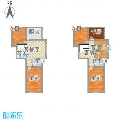 沿江国际5.73㎡富区豪宅户型