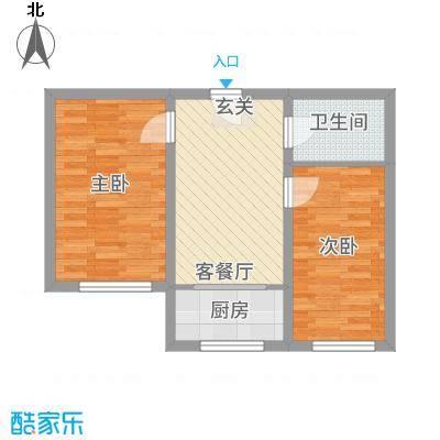 实华・新家源65.30㎡户型