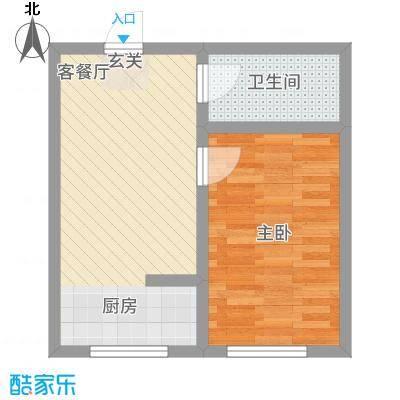 实华・新家源51.58㎡户型
