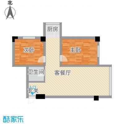 实华・新家源88.32㎡户型