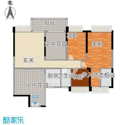 广和・澳海城166.67㎡8号楼1座N-202单元户型