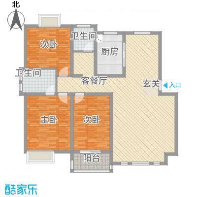 渤海尚城D500户型