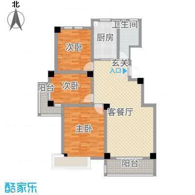 渤海尚城J户型