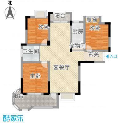 水榭丽都118.00㎡三户型3室2厅1卫1厨