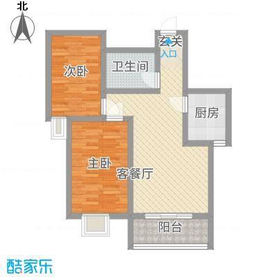 瑞丰苑81.00㎡户型