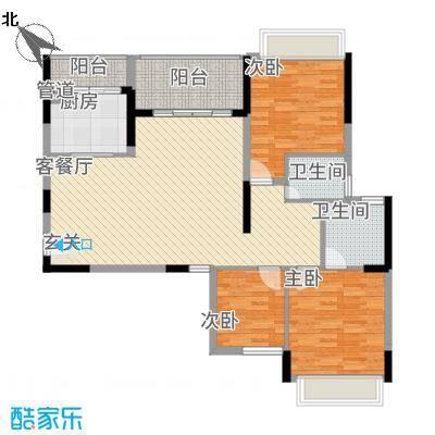 大华・富贵世家7.20㎡7#、8#楼户型