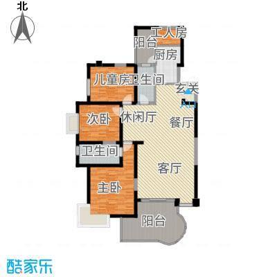 龙汇花园16.47㎡10栋D型户型4室3厅2卫1厨