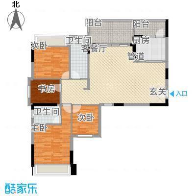 大华・富贵世家7.20㎡7#、8#楼2户型