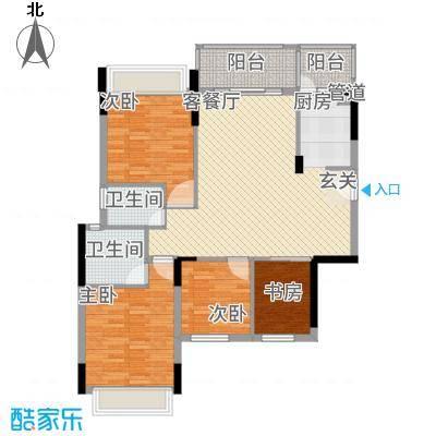 大华・富贵世家7.20㎡7#、8#楼3户型