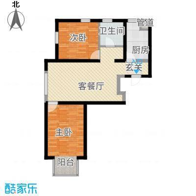 西山东苑户型2室