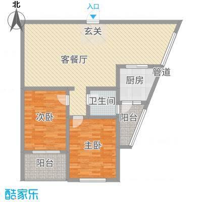 明景公寓12.58㎡户型
