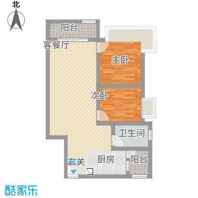 新中源国际商务公寓A座01户型