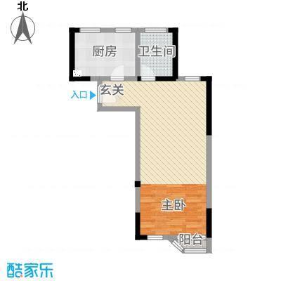 高成上海假日61.00㎡户型