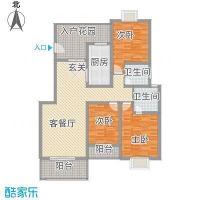 诚丰怡园户型3室