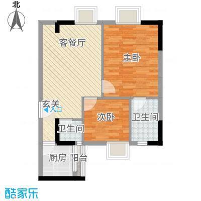 侨邦国际公寓8.00㎡户型