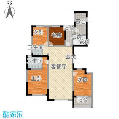 泰时新雅园户型3室