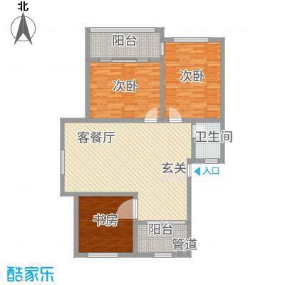 圣马丽都户型3室