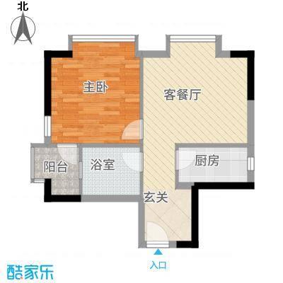 ��荟156.40㎡一座拆分户型3室2厅2卫1厨