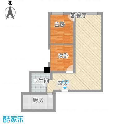 恒安大厦恒福轩116.00㎡恒福轩户型2室