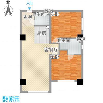 桃园公寓户型2室