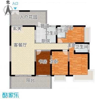 万和乐华花园15.00㎡1栋07户型2厅2卫