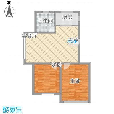辽阳鑫德雅居8.60㎡户型