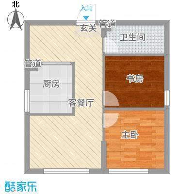 筑邦・壹�公馆8.32㎡盘锦户型